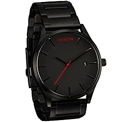 MVMT Watches Black Face with Black Stainless Steel Bracelet Men's Watch from MVMT Watches