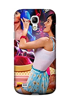 Personalized Protective Hard Textured Music Katy Perry Cell Phone Case Cover Compatible with Samsung Galaxy S4