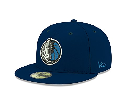 NBA Dallas Mavericks Men's Official 59FIFTY Fitted Cap, 7.375, Navy (Officials Cap compare prices)