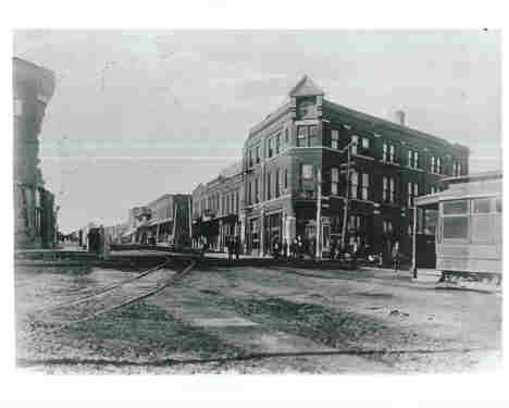 Main Street in Anna, Illinois c1890