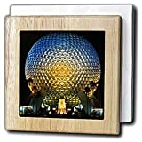 Florida, Orlando. Epcot Center at Walt Disney World - US10 BBA0072 - Bill Bachmann - 6 Inch Tile Napkin Holder