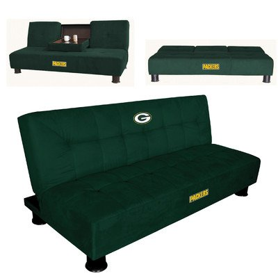 NFL Convertible Sleeper Sofa NFL Team: Green Bay Packers at Amazon.com