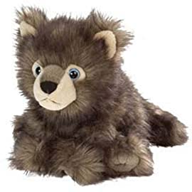 Cuddlekins 30cm Baby Wolf Plush Soft Toy