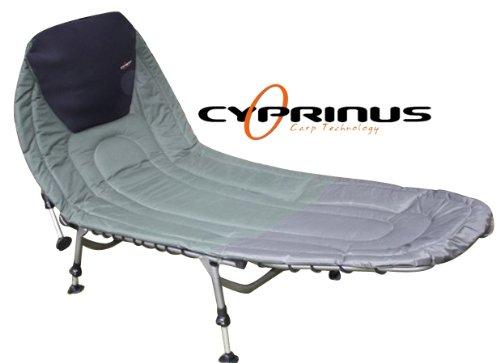Cyprinus Carp Bed Chair LayZee 6 Leg Bedchair for Fishing
