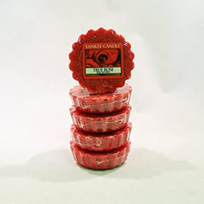 Yankee Candle - 5x True Rose Wax Tarts - Scent For 2012 by Yankee Candle