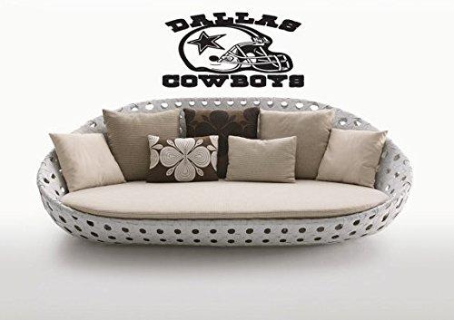 Wall Vinyl Decal Art Home Interior Sticker Any Room Dallas Cowboys Team Logo Nfl American Football Afc Nfc Super Bowl 0960 front-42194