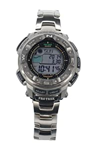 Casio Men's PRW-2500T-7CR Pro Trek Tough Solar Digital Sport Watch from Cannon Gate Pub Inc
