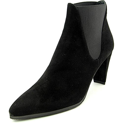 Stuart Weitzman Scooped Pointed-Toe Ankle Boots - Black