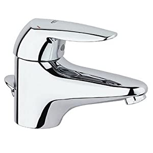 Grohe eurodisc single handle centerset lavatory faucet chrome 33413000 touch on bathroom - Grohe kitchen faucets amazon ...