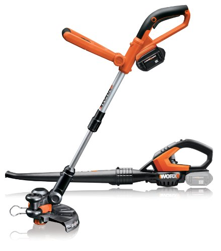 Buy WORX WG922 Cordless 24-Volt Lithium Trimmer/Edger and Blower/Sweeper Combo Kit WG165 & WG565
