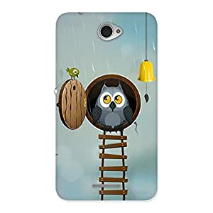 Enticing Raining Leader Owl Back Case Cover for Sony Xperia E4