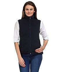 Aspasia Women Polyester Jacket (AJ001_L_Multi-color_Multi-color_Large)