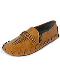 Bacca Bucci Men Tan Synthetic Leather Loafers