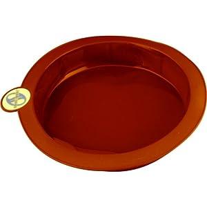 Smartware Silicone Bakeware, Round Cake Pan, Terracotta
