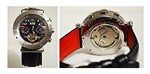 Orologio Uomo da polso | Meccanico | Automatico | Calendario | Fondo trasparente | Matex