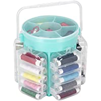 Everyday Home 210 Piece Sewing Kit Deluxe Caddy - Aqua