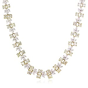 Diamond & 18k Two Tone Gold Necklace