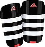 adidas(アディダス) サッカー シンガード エバー レスト BPH04 ブラック×ホワイト×ソーラーレッド(AP7035) M