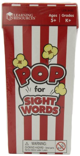 POP for Sight Words Game