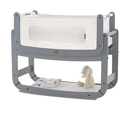 SnuzPod camera da letto e Materasso per culla, colore: grigio tortora