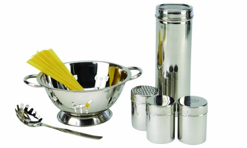 ExcelSteel 6 Piece stainless steel pasta preparation set