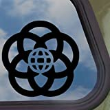 EPCOT Black Decal DISNEY Car Truck Bumper Window Sticker