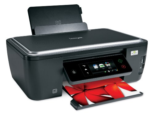 Lexmark Interact S605 Wireless All-In-One Inkjet Printer with Touchscreen