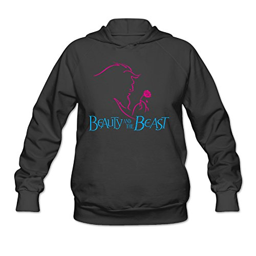 Women's Sweater Particular Beauty And The Best Size L Color Black (Big Bad Wolf Makeup)