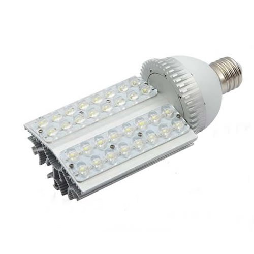 Brightsky E40 32W Warm White Led Street Lamp Courtyard Wall Pack Canopy Bulb Retrofit Light Model C