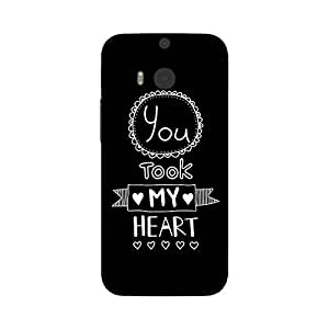 Garmor Designer Silicone Back Cover For HTC One M8