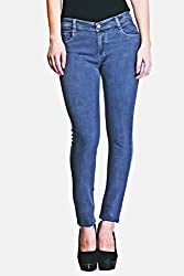 Keyara Collections Women's Slim Fit Jeans(KCUK012_Blue_30)