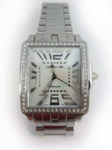 cbd129486d How Do i get CERRUTI 1881 Ladies 54 ct Diamonds All stainless steel ...