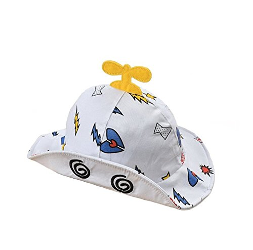 gemini-fairy-sun-protection-hat-cute-mini-plane-bucket-cap-with-wide-brim-for-lovely-baby-12-18-mont