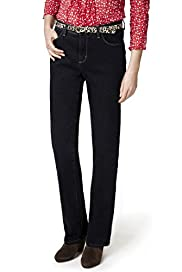Per Una Roma Straight Leg Denim Jeans with Belt