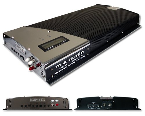 MA Audio HK602SX 3600 Watt RMS 2 Channel Car Amplifier 1 Ohm Sub Amp
