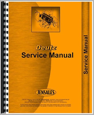 New Deutz (Allis) D10006 Tractor Manual (Wiring Diagrams Only): Amazon
