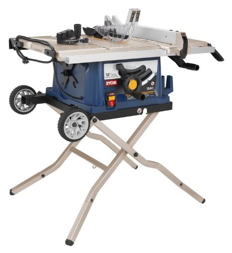Black Friday Factory Reconditioned Ryobi Zrrts30 10 In Table Saw With Wheeled Stand Black