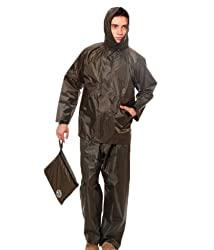 Duckback Mens Rain suit (Duckback666og_Green_X-Large)