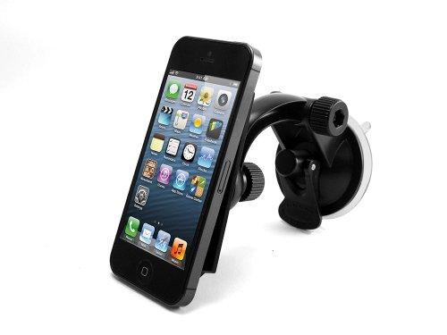 Cellet (Non-Slip) Smartphone Windshield / Dashboard Car Mount Phone Holder W/ Cradle & Turn Locks For Sony'S Xperia Z2, Z1 Smartphones
