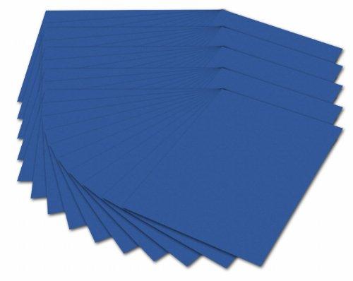 Folia 614/50 35 - Fotokarton 300 g/m², DIN A4, 50 Blatt, königsblau