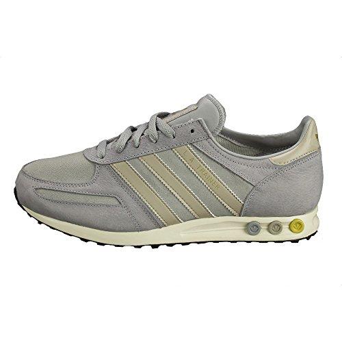 Adidas - Adidas LA TRAINER uomo grigio scarpe sportive uomo sneakers - Grigio, 46,5