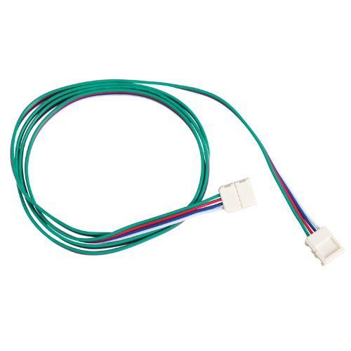 Kichler Lighting 1Ic96Rgbwh 96-Inch Flexible Rgb Interconnect Cable, White