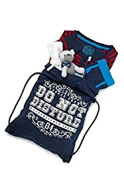 6 Piece Boys' Cotton Rich Sleepover Kit [T86-5901-S]