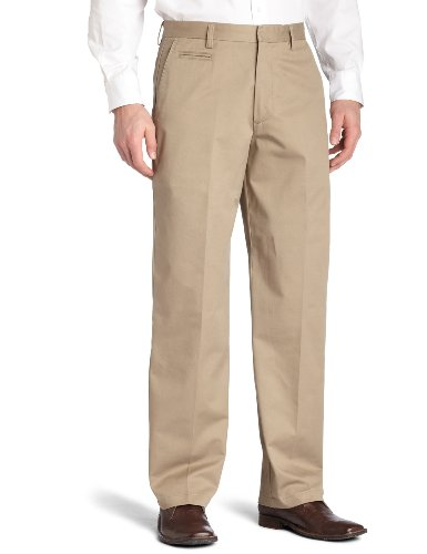 Dockers Men's Big & Tall True Khaki Flat Front,Khaki,48x30