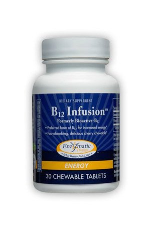 B12 Infusion Enzymatic Therapy Inc. 30 Lozenge