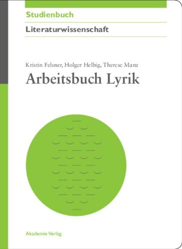 Arbeitsbuch Lyrik