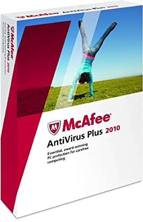McAfee AntiVirus Plus 2010 (3 User Edition)
