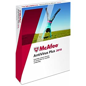 McAfee AntiVirus Plus 3 User 2010