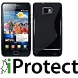 "Iprotect ORIGINAL SAMSUNG GALAXY S2 I9100 TPU CASE S-LINE HIGHCLASS SCHWARZ / BLACKvon ""iprotect"""