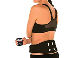 Milex Therapy Vibration Instant Back Pain Relief and Lumbar Support Belt